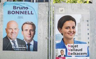 Bruno Bonnell (LREM) et Najat Vallaud-Belkacem s'affronteront le 18 juin dans la 6e circonscription du Rhône.