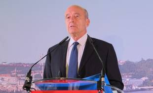 Alain Juppé, lors de sa conférence de rentrée, le 18 septembre 2014