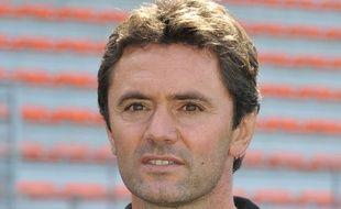 Sylvain Ripool, nouvel entraîneur du FC Lorient, en septembre 2012.