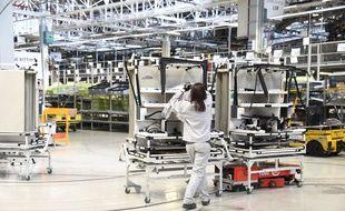 L'usine PSA de Mulhouse en février 2018.