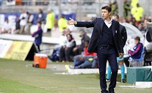 Hubert Fournier a reconnu ses erreurs concernant l'équipe de départ alignée à Lorient, dimanche soir   /FAYOLLE_Photo056/Credit:Pascal Fayolle/SIPA/1410052302