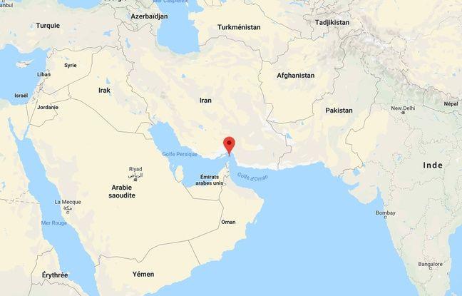 Le détroit d'Ormuz, seule porte d'accès pour les tankers et pétroliers souhaitant quitter le Golfe persique.