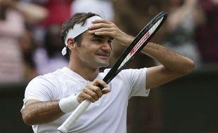 Ouh le mal de crâne pour Federer ce lundi