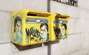 Des boites aux lettres à l'effigie de Simone Veil ont été vandalisées le 11 février dernier dans le XIIIe arrondissement de Paris.