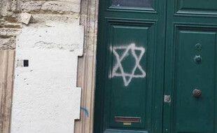 Le tag a été retrouvé sur la porte d'une école à Montpellier