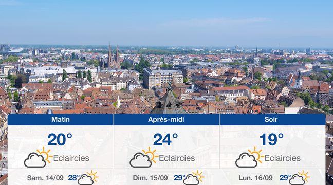 Météo Strasbourg: Prévisions du vendredi 13 septembre 2019 - 20minutes.fr