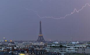Le temps sera encore orageux samedi 19 juin 2021 en France.