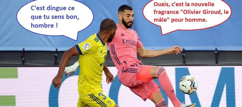 Rafa Jiménez a de drôles de préoccupations en plein match face au Real.