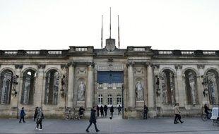 La mairie de Bordeaux.