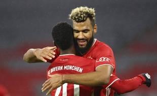 Eric Choupo-Moting et Bouna Sarr ont réussi leurs débuts avec le Bayern Munich, le 15 octobre 2020.