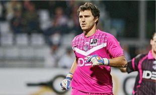 Le contrat de l'ancien gardien de Bordeaux et de Boulogne-sur-Mer, arrivé en décembre2009, expire au mois de juin.