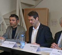 De la faculté des sciences historiques, Benoît Tock est le vice-président de l'université de Strasbourg chargé de la formation.