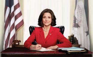 Julia Louis-Dreyfus est Selina Meyer, vice-présidente puis présidente des Etats-Unis dans la série «Veep» qui s'est achevée le 12 mai 2019
