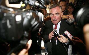 Le procureur Jean-Claude Marin le premier jour du procès Clearstream, le 21 septembre 2009