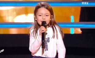 Lena, candidate de The Voice Kids.
