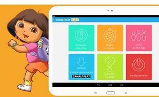 La nouvelle offre Canal Play Kids est proposée sans supplément avec le service de SVOD Canal Play.