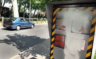 Depuis début mai, 13 radars ont été vandalisés dans le Jura. Illustration