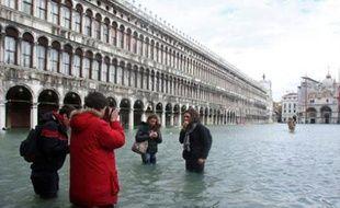 Venise sous les eaux le 1er décembre 2008