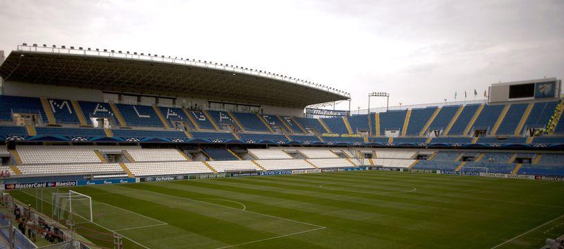 Le stade de Malaga, ici en 2012.