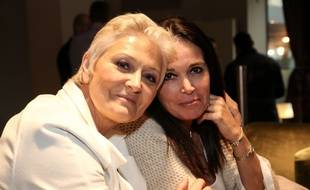 Marie-Caroline Le Pen (à gauche) avec Catherine Griset, lors de campagne des élections européennes de 2019.