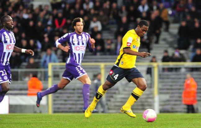 Thierry Doubaï, la révélation sochalienne du début de saison, le 26 février 2012 à Toulouse.