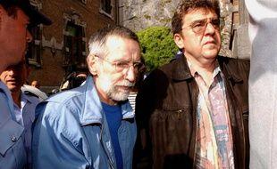 Michel Fourniret, en 2004 à Dinant en Belgique.