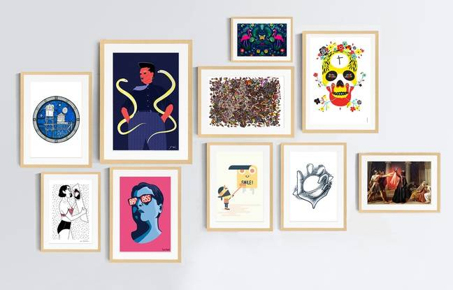 La sélection des premières oeuvres disponibles à la vente sur le site Ideotopie.