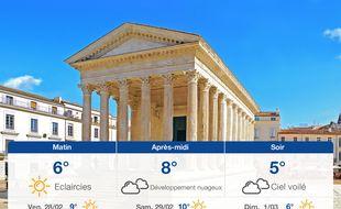 Météo Nîmes: Prévisions du jeudi 27 février 2020