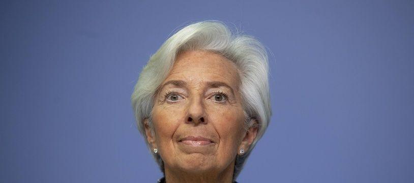 Christine Lagarde de la BCE