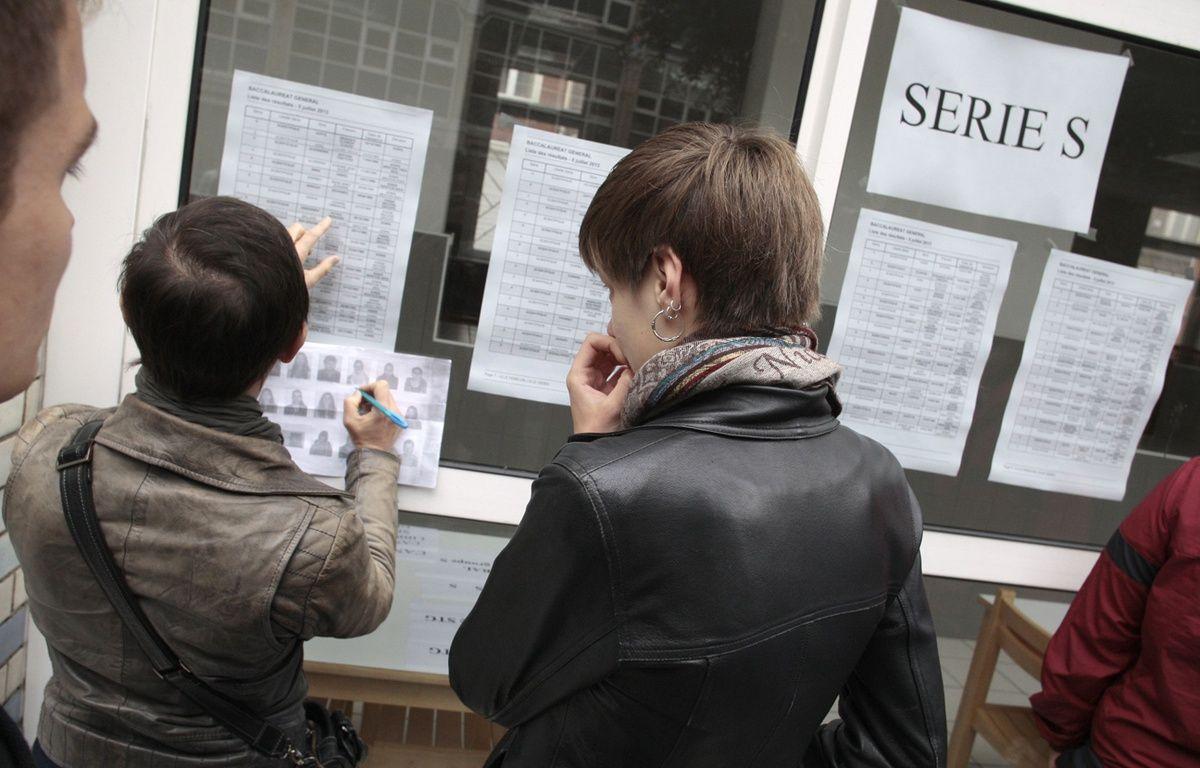 Illustration: Des lycéens lillois découvrent les résultats du bac. – BAZIZ CHIBANE/SIPA