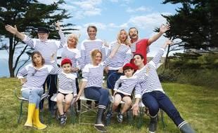 La smala de la série courte «En famille».