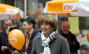 Henriette Reker à Cologne vendredi 16 octobre, la veille de son agression.