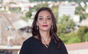 Loubna Abidar, au Festival du film francophone d'Angoulême, en août 2015.