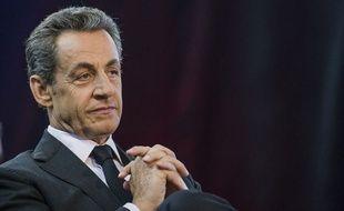 Nicolas Sarkozy à Aulnay-sous-Bois le 15 novembre 2014.