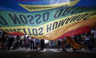 La 21ème gay pride organisée à Sao Paulo, en juin 2017
