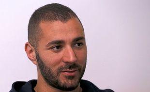 Karim Benzema lors de son interview accordée au journal Marca.