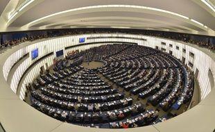 L'hémicycle du Parlement européen à Strasbourg