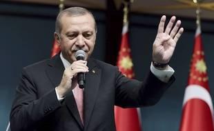 Le président turc Recep Tayyip Erdogan, le 20 juillet 2016, à Ankara.