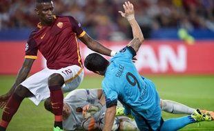 Le défenseur allemand de la Roma Antonio Rudiger est impliqué dans l'action sur laquelle le commentaire raciste du consultant a eu lieu.