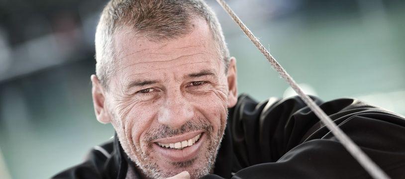Le skipper Sébastien Destremau, arrivé 18e du Vendée Globe.