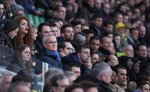 Claudio Ranieri a fini la rencontre au milieu des spectateurs.
