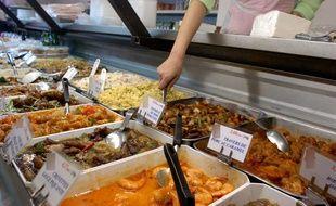 Illustration Du0027un Restaurant Chinois.
