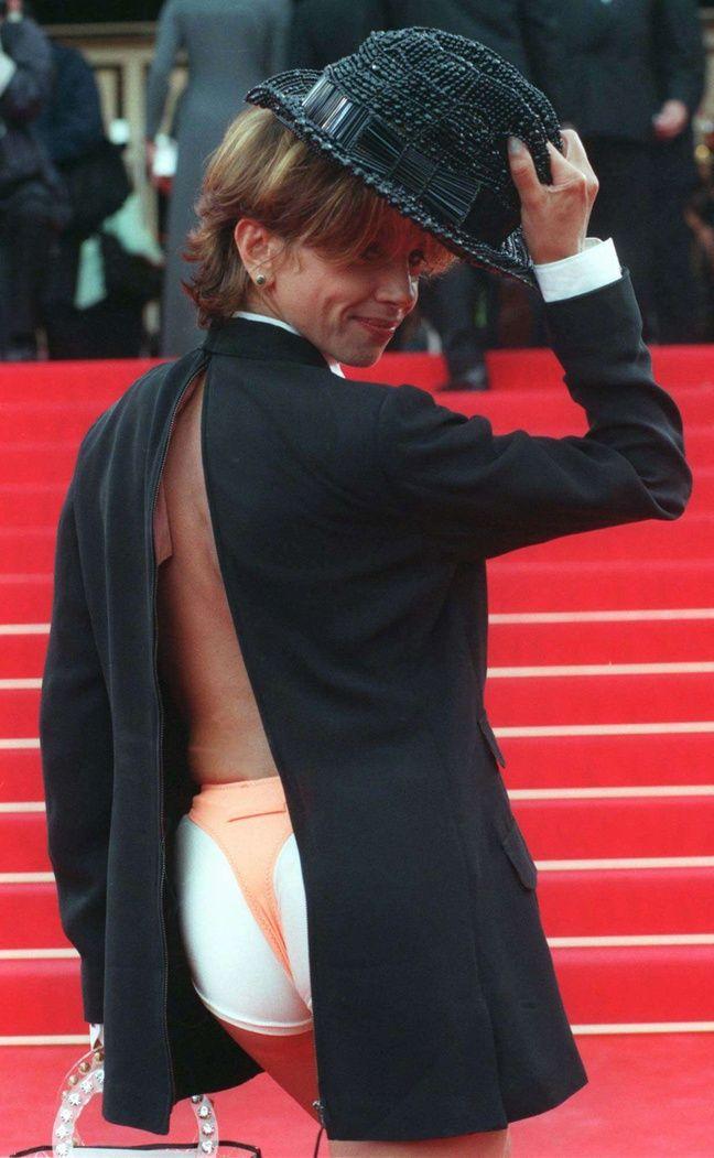 Victoria Abril au Festival de Cannes, en mai 1997.