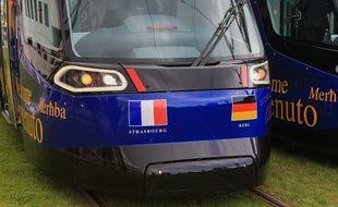 Le tram transfrontalier entre Strasbourg et Kehl avait été inauguré en 2017.