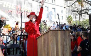 L'actrice et activiste Jane Fonda