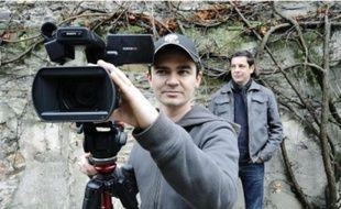 Sébastien Marqué et Gildas Maquaire réalisent les « Ghost movies » sur leur temps libre.