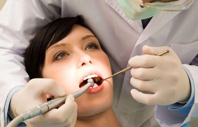 Illustration d'une consultation chez le dentiste.