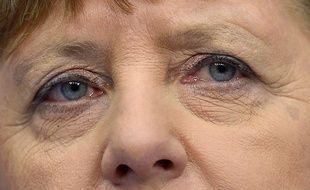 Angela Merkel lors du Sommet européen, le 19 février 2016.