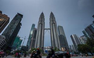 Les tours Petronas à Kuala Lumpur, le 19 mai 2021.
