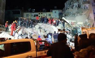 Un séisme de magnitude 6,8 s'est produit à Elazig, dans l'Est de la Turquie, le 24 janvier 2020.